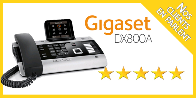 Tests avis Gigaset DX800