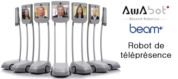 Robot de téléprésence Awabot Beam+
