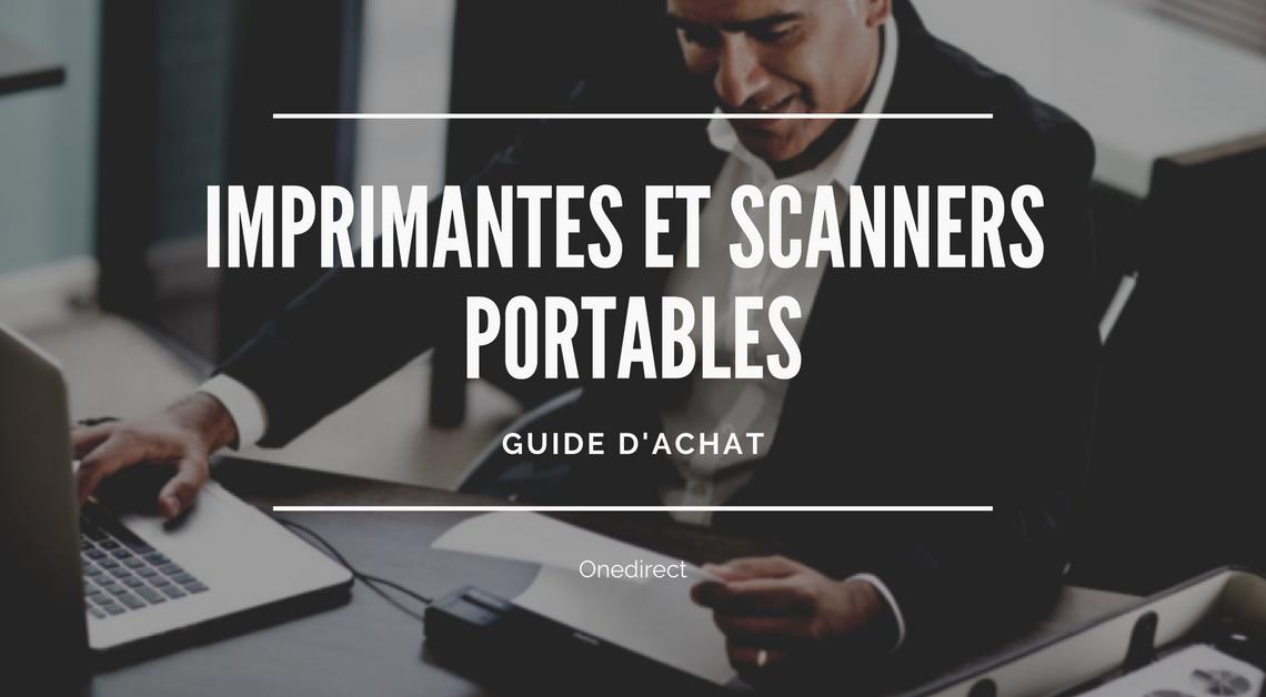 Guide achat imprimante scanner