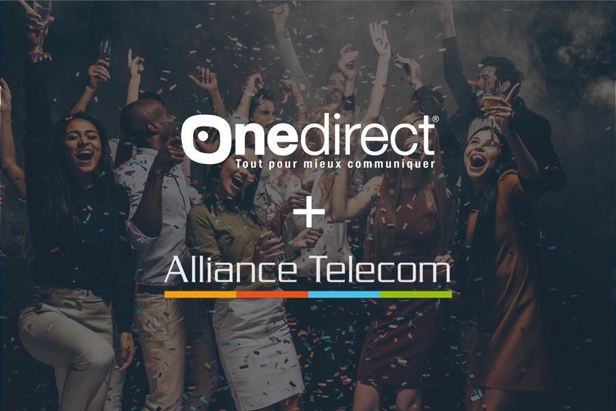 Fusion Onedirect et Alliance Telecom