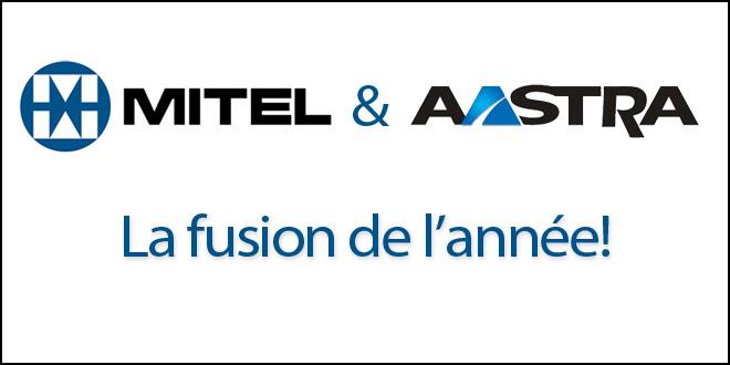 Fusion Aastra Mitel rachat