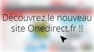 Nouveau site Onedirect.fr