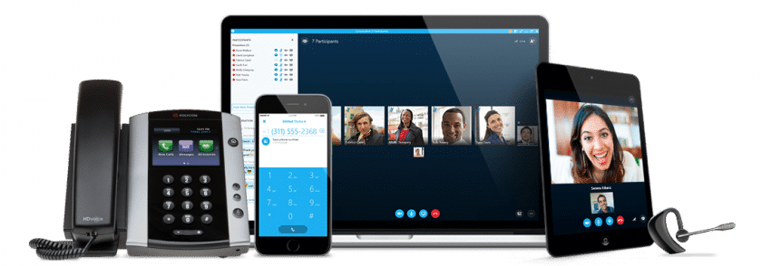 Connection skype for business