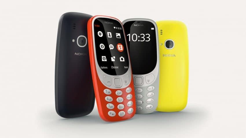 Nokia 3310 couleurs