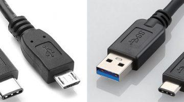 USB A - USB C